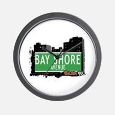Bay Shore Av, Bronx, NYC Wall Clock