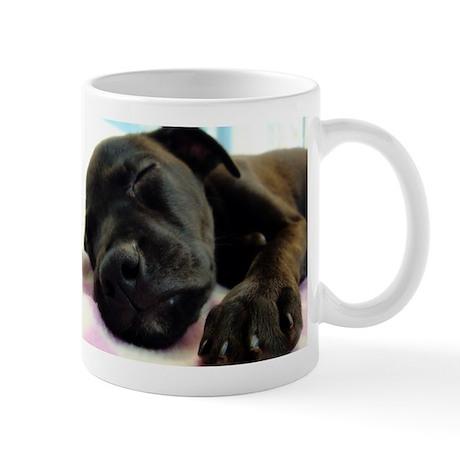Sleeping Puppy Mug
