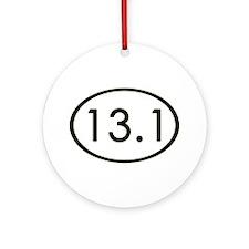 13.1 Miles Ornament (Round)