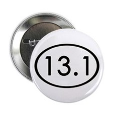 """13.1 Miles 2.25"""" Button (100 pack)"""
