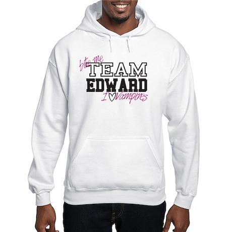 Team Edward Bite Me Hooded Sweatshirt