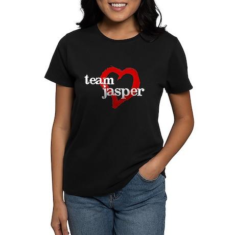 team_jasper_heart_white T-Shirt