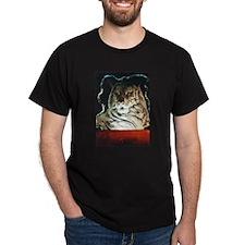 Bengal Tiger Black T-Shirt