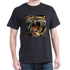 Bengal Tiger Black T-Shirt
