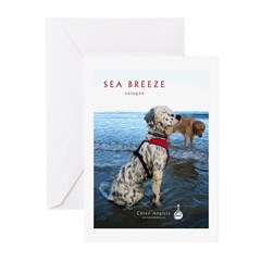 Sea Breeze Cologne Greeting Cards (Pk of 10)