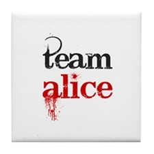 Team Alice Tile Coaster