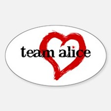 Team Alice Oval Decal