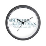 Southern Gentleman Wall Clock
