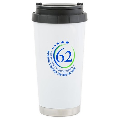 District 62 Stainless Steel Travel Mug