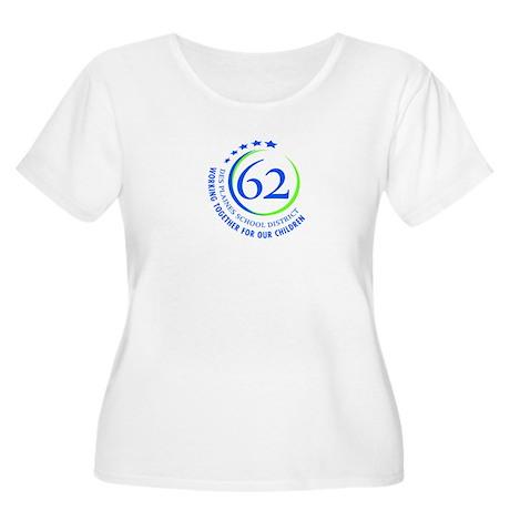 District 62 Women's Plus Size Scoop Neck T-Shirt