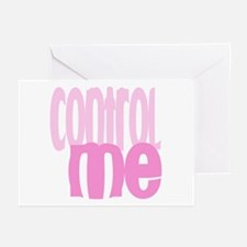 Control Me Greeting Cards (Pk of 10)