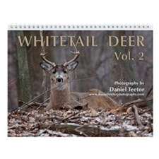 Whitetail Deer Vol. 2 Wall Calendar