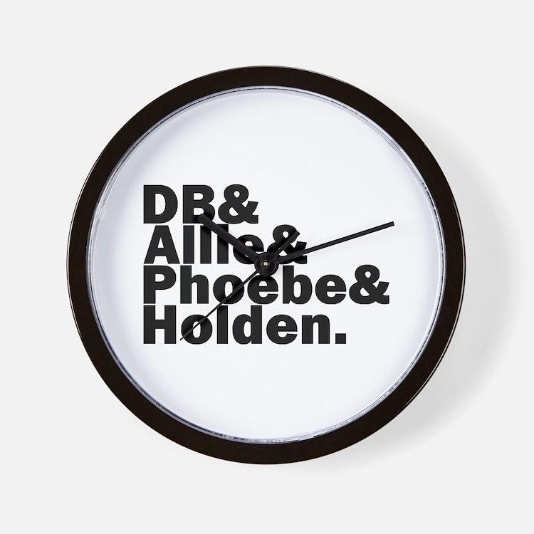 Cute Allie Wall Clock