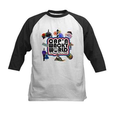 Cap'n Wacky World Souvenir Kids Baseball Jersey