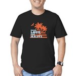 Have Love for Haiti Men's Fitted T-Shirt (dark)