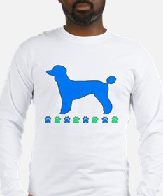 Poodle Paws Long Sleeve T-Shirt