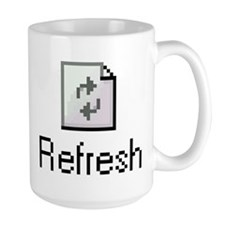 "Large ""Refresh"" Mug"