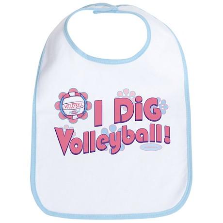 I Dig Volleyball Bib