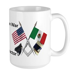 Masonic Mexican War Re-enactors Large Mug