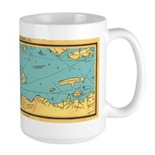 Panoramic 1911 Lake Winnipesaukee Map Mug