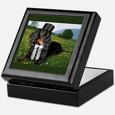 Black Keepsake Box