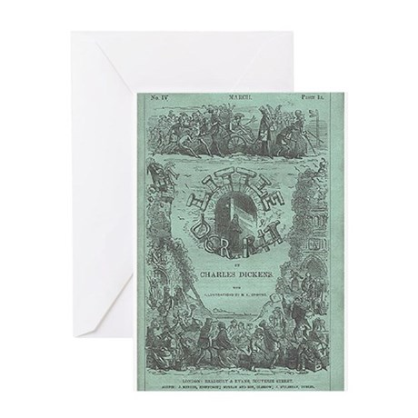 Little Dorrit Cover Greeting Card