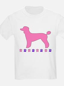 Poodle Paws T-Shirt