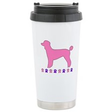 Poodle Paws Travel Mug