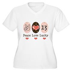 Peace Love Lucky 13 T-Shirt