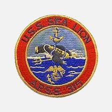 "USS SEALION 3.5"" Button (100 pack)"