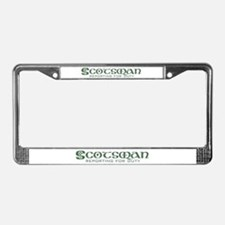 Scots are Sexy License Plate Frame