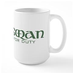 Scots are Sexy Large Mug