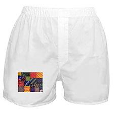 Quilt Squares Boxer Shorts