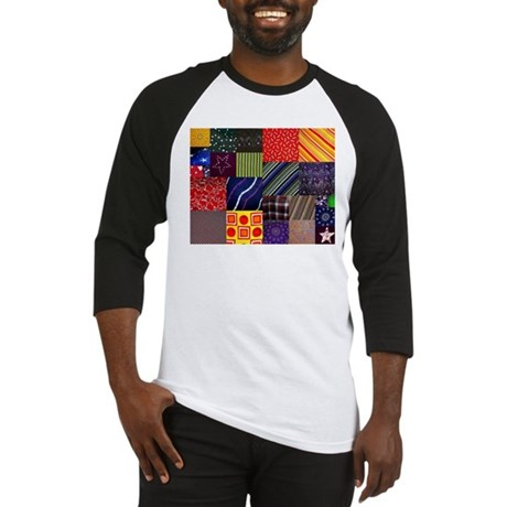 Quilt Squares Baseball Jersey