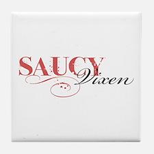 Saucy Vixen Tile Coaster