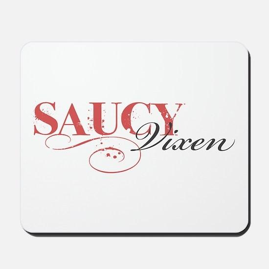 Saucy Vixen Mousepad