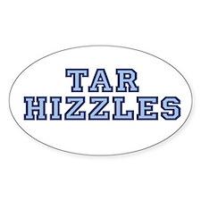 North Carolina Tarhizzles Oval Stickers