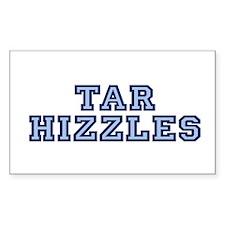 North Carolina Tarhizzles Rectangle Decal
