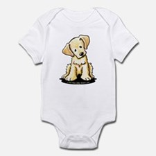 Lab Retriever Puppy Infant Bodysuit