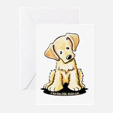 Lab Retriever Puppy Greeting Cards (Pk of 20)