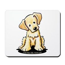 Lab Retriever Puppy Mousepad