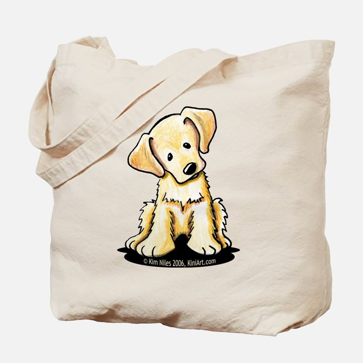 Lab Retriever Puppy Tote Bag