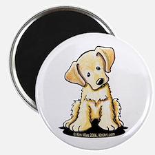 "Lab Retriever Puppy 2.25"" Magnet (10 pack)"