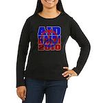 Aid Haiti Women's Long Sleeve Dark T-Shirt