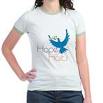 Hope for Haiti Jr. Ringer T-Shirt