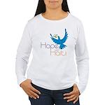 Hope for Haiti Women's Long Sleeve T-Shirt