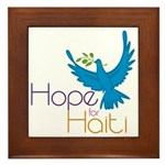 Hope for Haiti Framed Tile