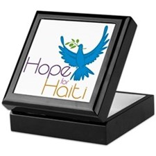 Hope for Haiti Keepsake Box