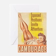Exposed Positions Greeting Card