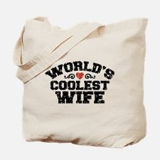 World's Coolest Wife Tote Bag